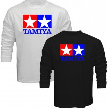 New T-Shirt Tamiya Legendary 90's Car Toy Classic Logo Mens Long Sleeve Tee S-5XL