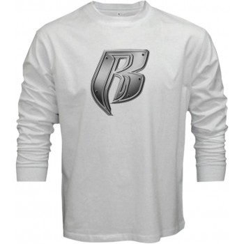 New T Shirt R Ruff Ryders Logo Funny Mens Long Sleeve Tee Size S To 6XL