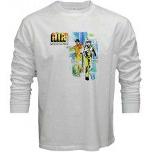 New T Shirt Air French Band Moon Safari Album Mens Long Sleeve Tee Sz S To 5XL