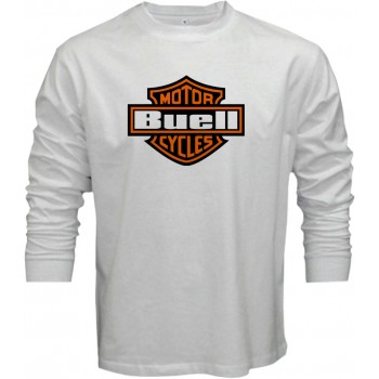 New T Shirt Buell Motorcycles Racing Sports Mens Long Sleeve Tee Size S To 5XL