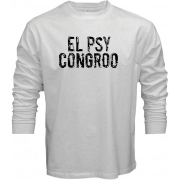 T-shirts New Steins Gate El Psy Congroo Anime Logo Mens Black T-shirt Size S To 3xl