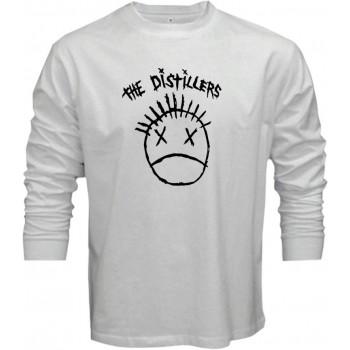 New Tee T-Shirt The Distillers Punk Rock Band Logo Mens Long Sleeve S-5XL