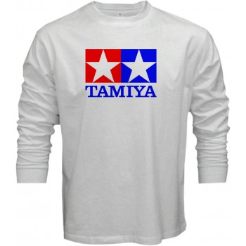 New T-Shirt Tamiya Legendary 90's Car Toy Classic Logo Mens Long Sleeve Tee S-5XL
