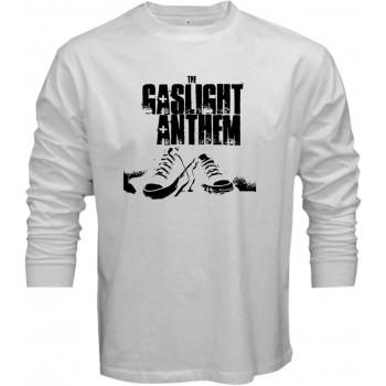 New Tee T-Shirt The Gaslight Anthem Rock Band Logo Mens Long Sleeve S-5XL