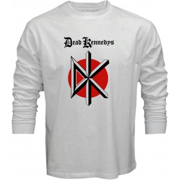 New Tee T-Shirt The Dead Kennedys Punk Rock Band Logo Mens Long Sleeve S-5XL