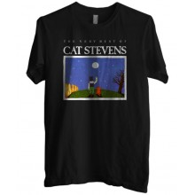 New T Shirt The Very Best Of Cat Stevens Music Mens Short Sleeve Tee Sz S To 6XL