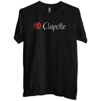 Chipotle Mexican Grill Logo Men/'s Black T-Shirt Size S to 3XL