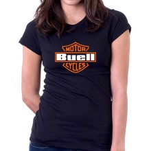 New T Shirt Buell Motorcycles Racing Sports Womens Ladies Girls Tee Sz S To 2XL