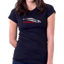 New T Shirt Hyndai Genesis Coupe Outline Sports Cars Logo Womens Tee Sz S To 2XL
