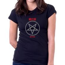 New T Shirt Mötley Crüe Motley Crue Heavy Metal Shout at the Devil Womens Tee