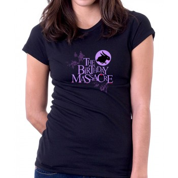 New T Shirt The Birthday Massacre TBM Canadian Band Logo Womens Tee Sz S To 2XL