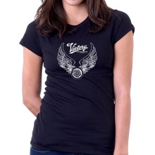New T Shirt Victory Motorcycle USA Motor Muscle Womens Ladies Girls Tee Sz S-2XL
