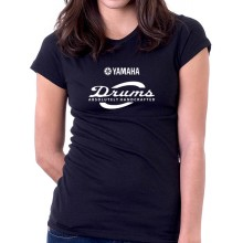 New T Shirt Yamaha Absolutely Handcrafted Cymbal Drums Womens Ladies Tee Sz S2XL
