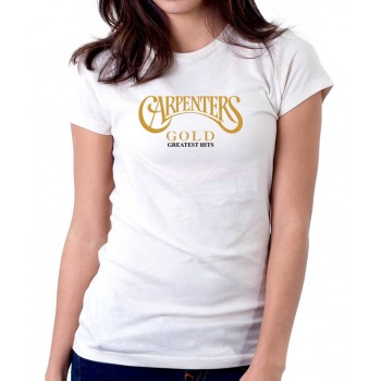 New T-Shirt The Carpenters Gold Greatest Hits Legend Womens Ladies Tee Sz S-2XL