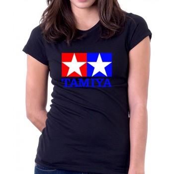 New T-Shirt Tamiya Legendary 90's Car Toy Classic Logo Womens Ladies Tee S-2XL