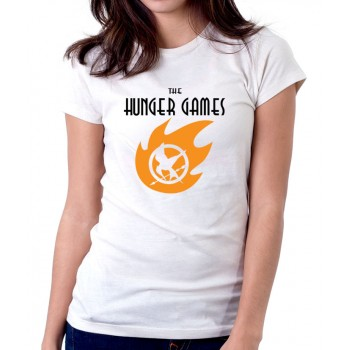 New Tee T-Shirt The Hunger Games Adventure Logo Womens Ladies Size S To 2XL