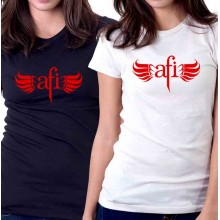 New Tee T-Shirt Afi Sing The Sorrow Alternative Rock Band Womens Size S To 2XL