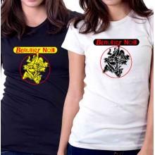 New T Shirt Bérurier noir Berurier Punk Band Logo Womens Ladies Tee Sz S-2XL