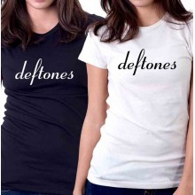 New Tee T-Shirt Deftones Rock Band Logo Adrenaline Womens Ladies Girls Sz S-2XL