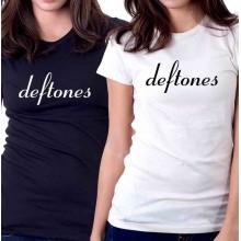 New Tee T-Shirt Deftones Rock Band Logo Adrenaline Womens Ladies Girls Sz S-2XL