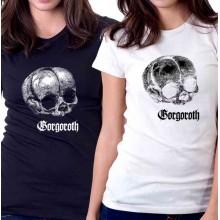 New T-Shirt Gorgoroth Black Metal Band Logo Womens Ladies Tee Size S To 2XL