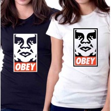 New Tee T-Shirt Obey Shepard Fairey Andre the Giant Has a Posse Womens Sz S-2XL
