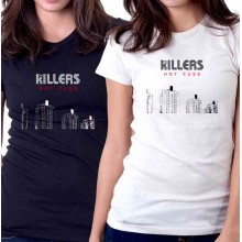 New Tee T-Shirt The Killers Hot Fuss Concert Tour Rock Band Womens Ladies S-2XL