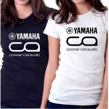 New T-Shirt Yamaha Commercial Audio Logo Womens Ladies Tee Size S To 2XL