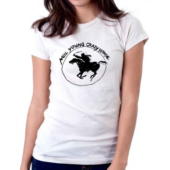 New Tee T-Shirt Neil Young Crazy Horse Harvest Moon Rock Legend Womens Sz S-2XL